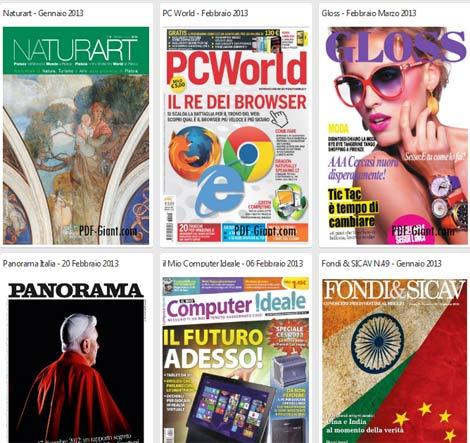 riviste-giornali-pdf