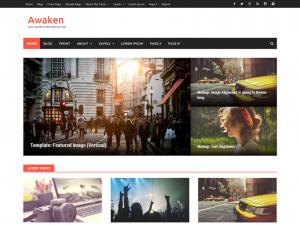Migliori Temi WordPress Gratis - Awaken