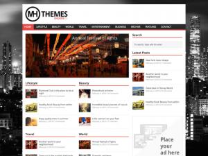 Migliori Temi WordPress Gratis - MH Magazine