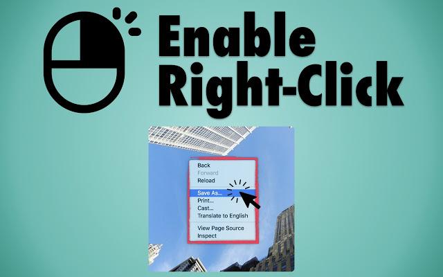 Abilitare click destro sui siti web con Chrome