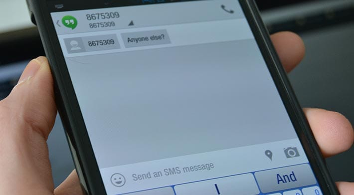 Programmare invio SMS con Android