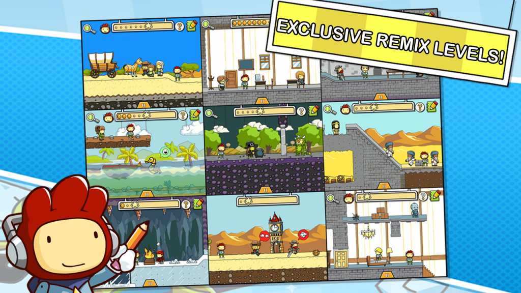 Scribblenauts Remix apk android game