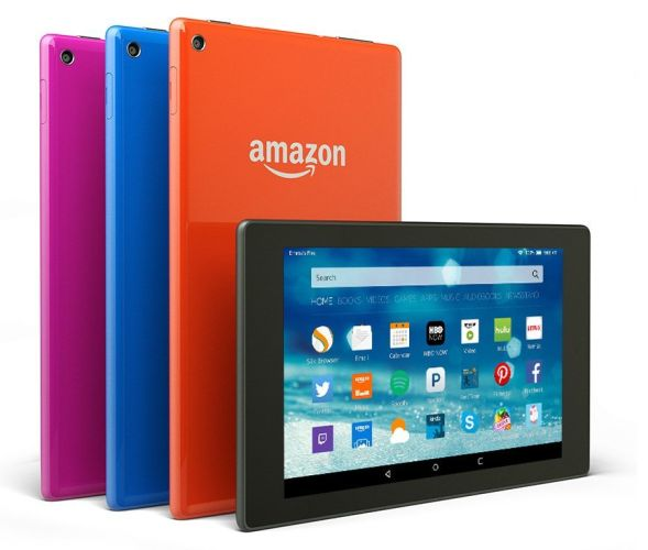 mazon Fire HD 8 e 10