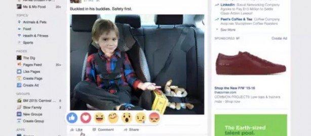 Reazioni Facebook Mi Piace