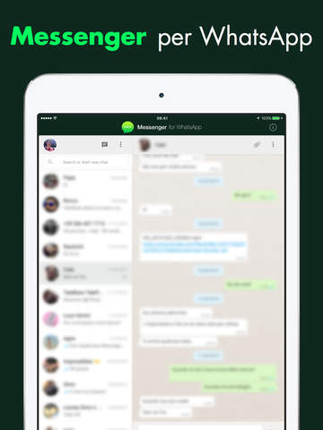 Come usare WhatsApp su iPad