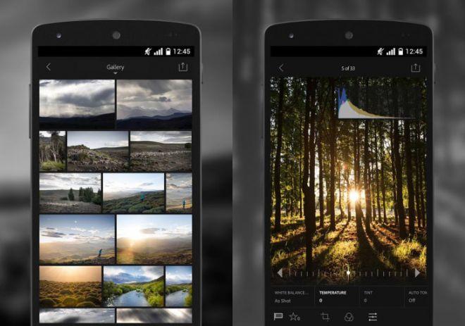 Scaricare GRATIS Adobe Lightroom per Android