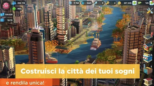 SimCity BuildIt Trucchi Android