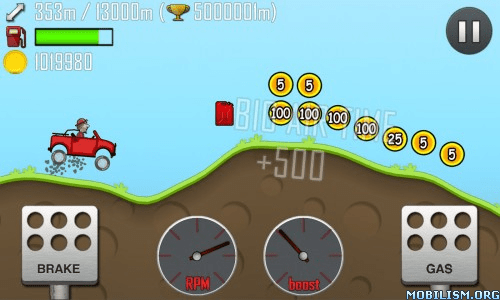 Trucchi Hill Climb Racing APK Android