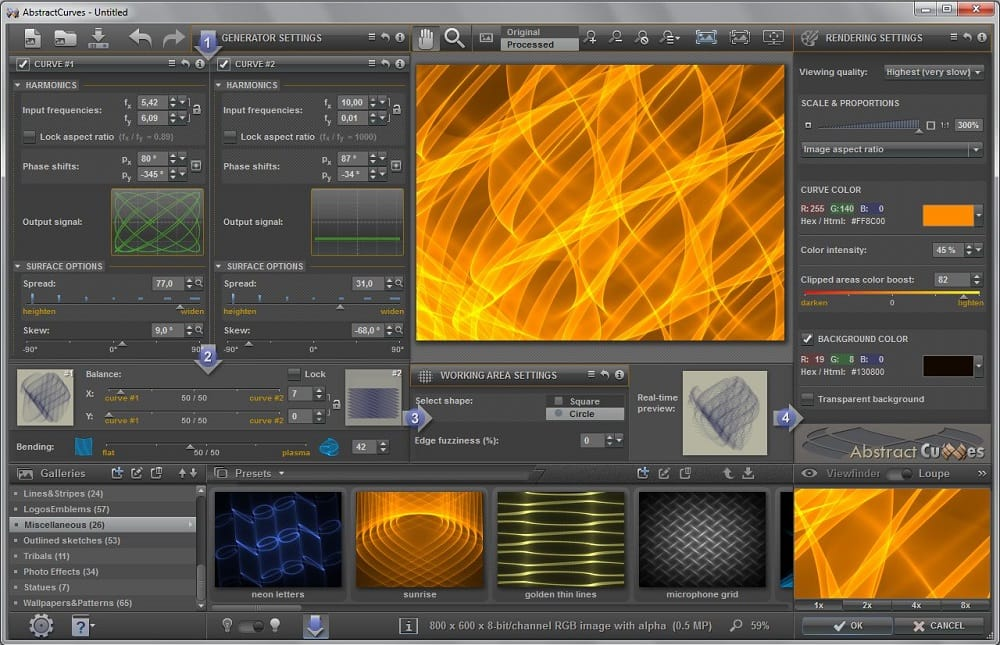 Creare sfondi e wallpaper astratti ed in material design for Sfondi material design