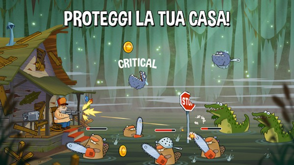 Trucchi Swamp Attack iOS, iPhone, iPad