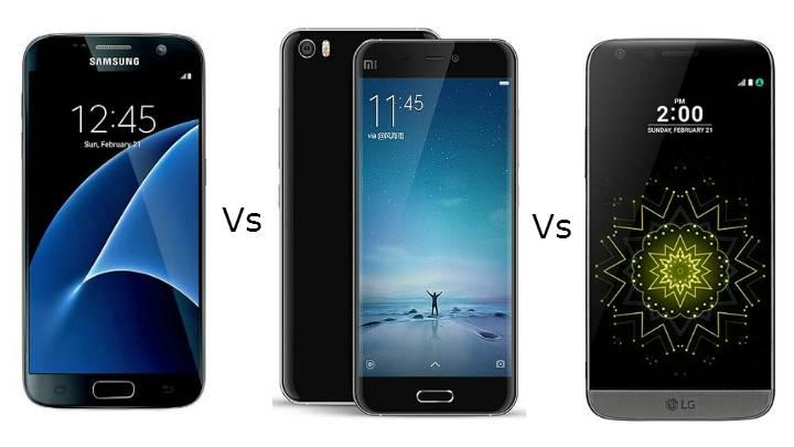 Quale comprare tra Xiaomi Mi5, Samsung Galaxy S7 ed LG G5 ...