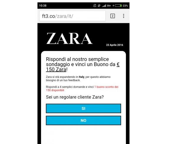Cheque regalo zara whatsapp