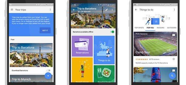 Download Google Trips