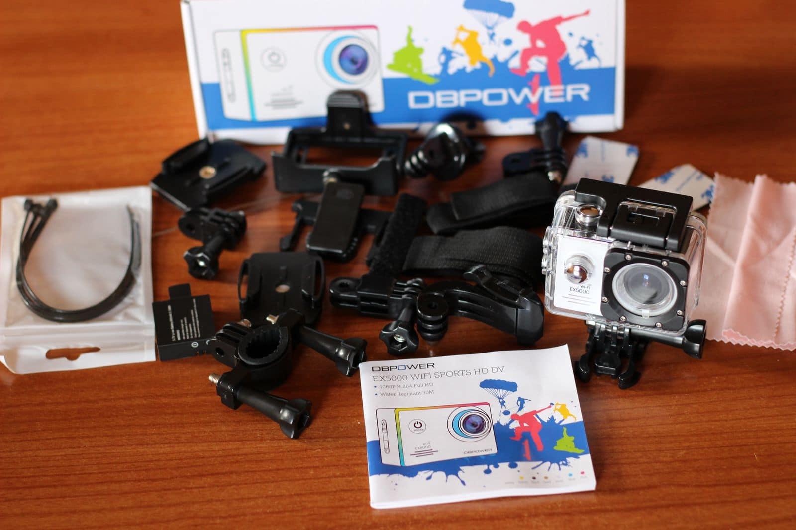 DBPOWER EX5000 White (2)