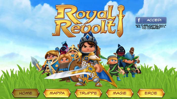 Trucchi Royal Revolt iOS, iPhone, iPad