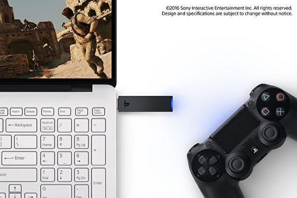 adattatore wireless per usare DualShock 4 su PC