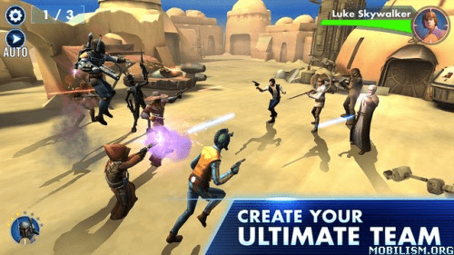 Trucchi Star Wars Galaxy of Heroes Android