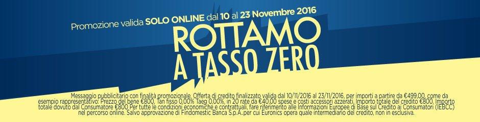 Rottamo a tasso zero da euronics con sconti fio al 40 for Sconti coupon amazon