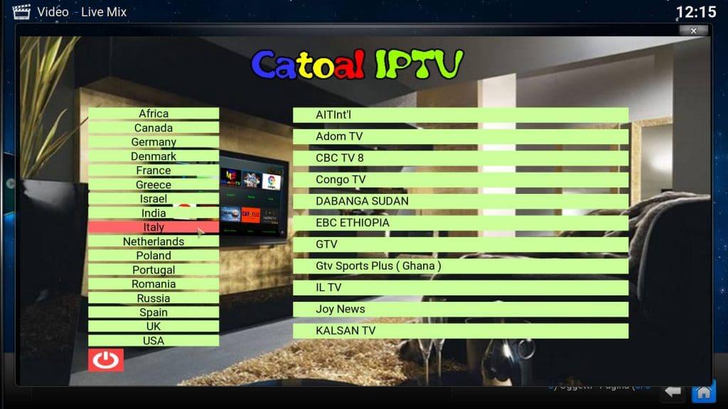 Catoal IPTV