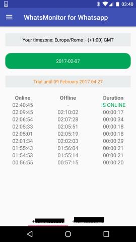 controllo accessi whatsapp iphone