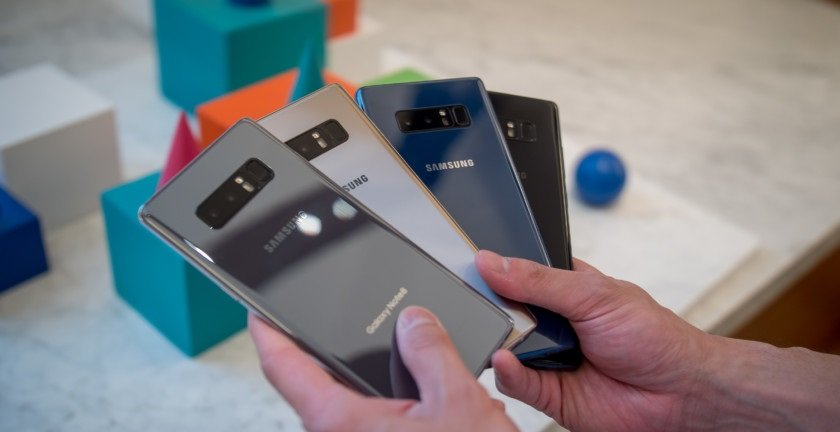Galaxy note 8 quale colore scegliere e confronto for Scegliere smartphone