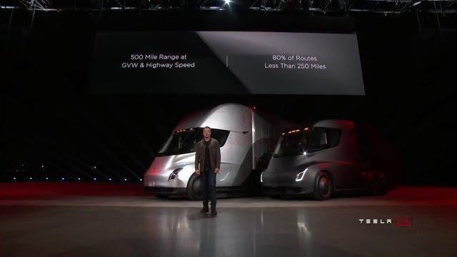 Tesla Semi, tir elettrico nel 2019. Tesla Roadster da 400 km/h