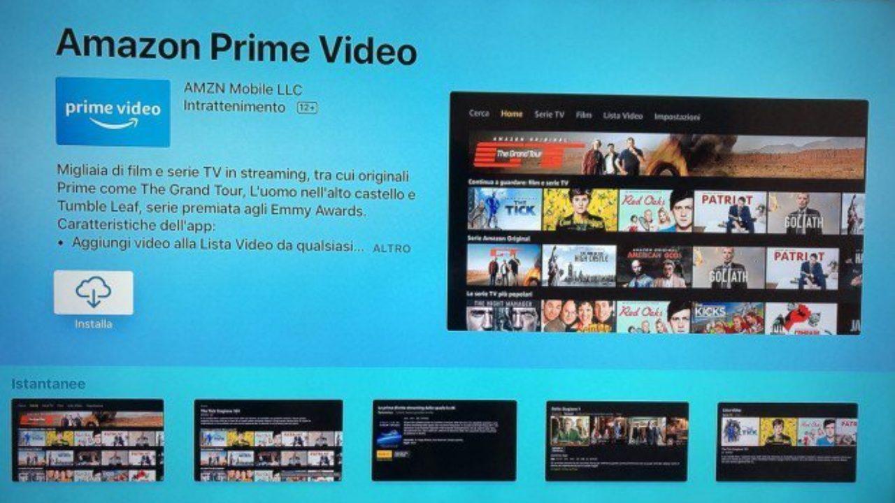 VEDERE AMAZON PRIME VIDEO SU TV CON CHROMECAST