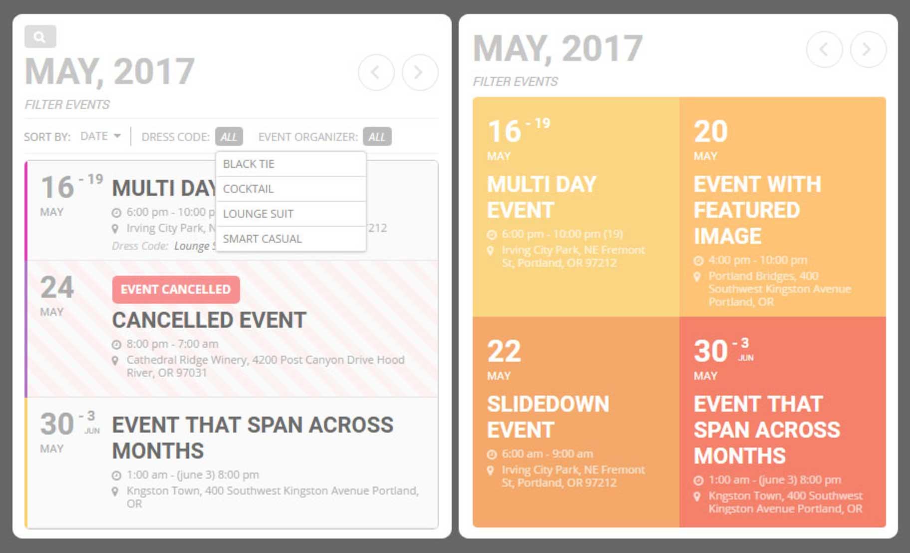 Calendar Event Design : Migliori plugin wordpress per prenotazioni ed appuntamenti