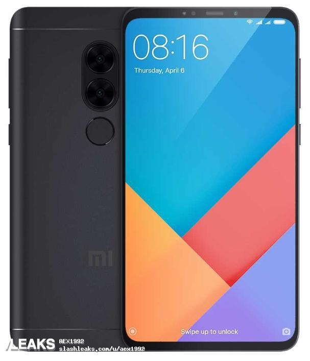 Xiaomi Redmi Note 5 si mostra in una presunta immagine leaked