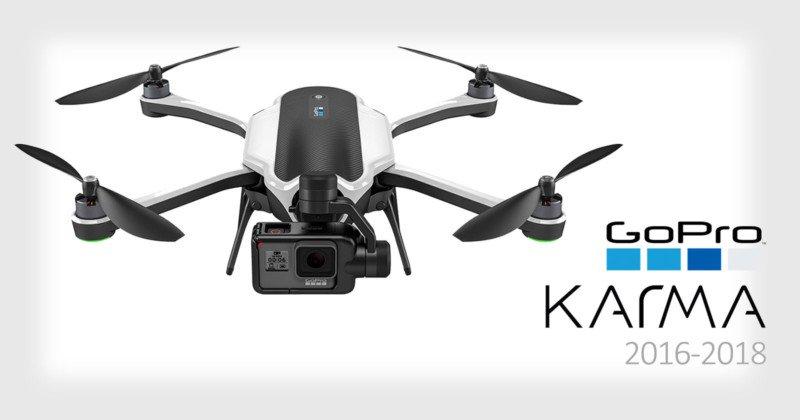 GoPro abbandona il mercato dei droni: difficoltà a fare utili