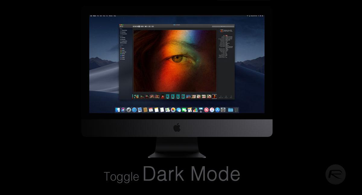 Come Attivare Dark Mode Su macOS Mojave