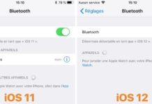 Icona Bluetooth non si vede più su iPhone, iPad e iPod con iOS 12
