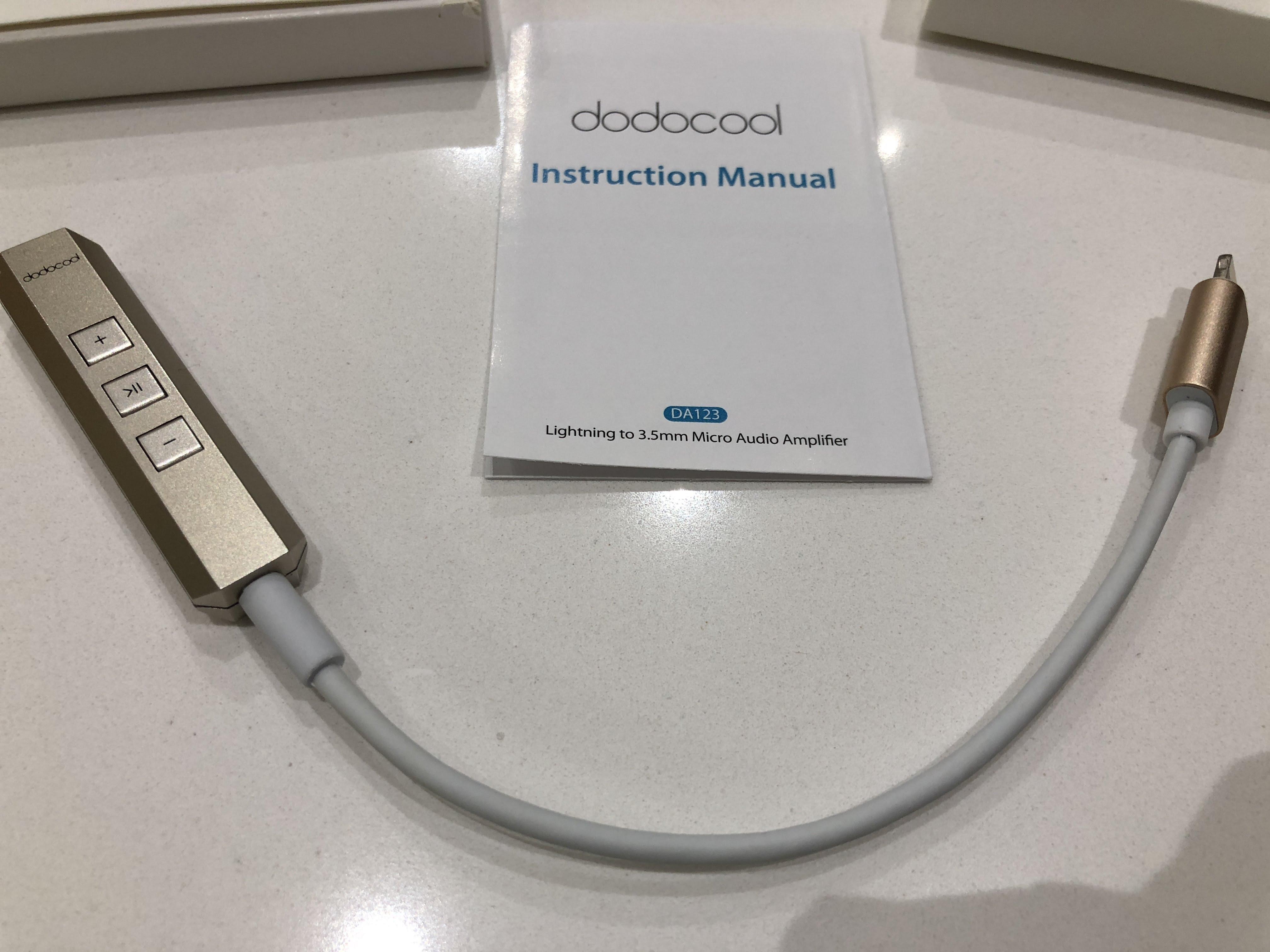 Adattatore Dodocool da Lightning a Jack Audio 3.5mm d06ede96d731