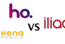 iliad vs Ho. Mobile vs Kena Mobile