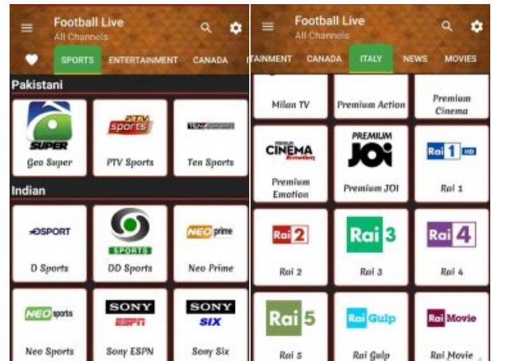 tvtap pro apk download italiano gratis