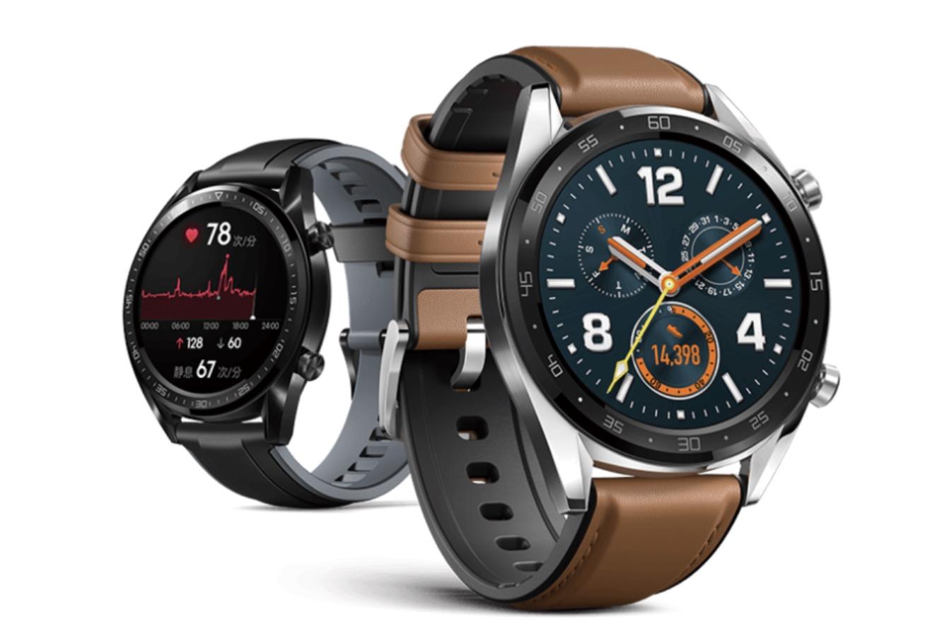 Anteprima Huawei Watch GT