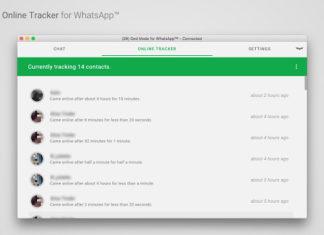 Notifica Contatto Online WhatsApp
