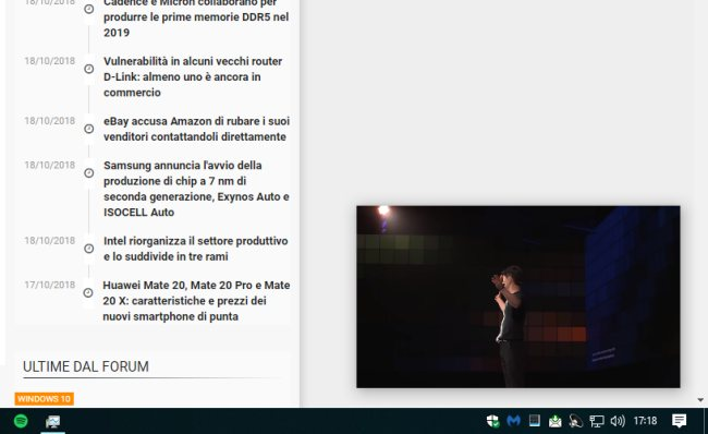 Picture-in-Picture su Google Chrome