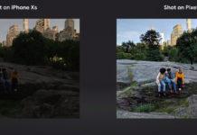 Secondo Google, la fotocamera di Google Pixel 3 batte quella di iPhone XS