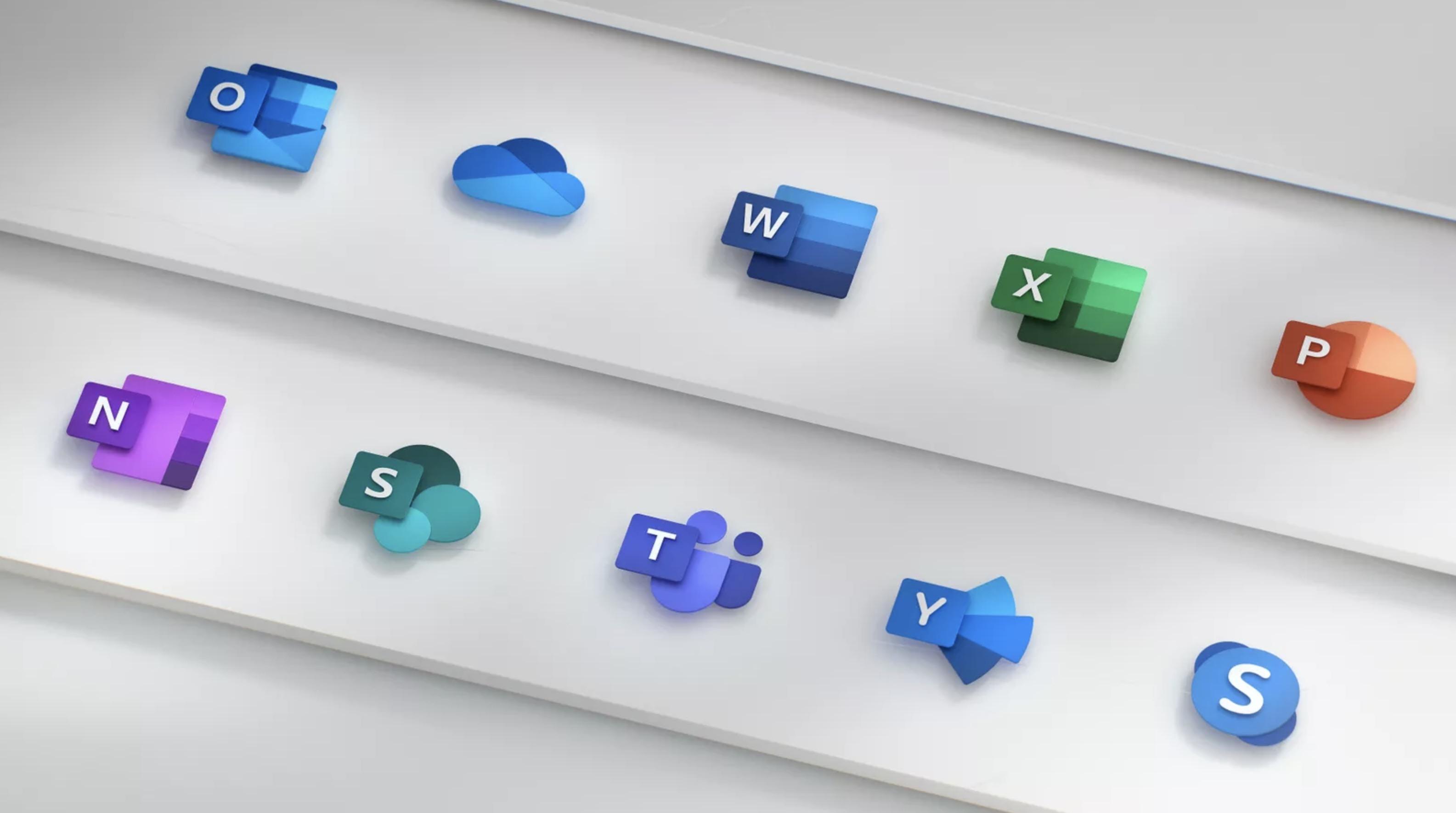 Microsoft Office: ecco le nuove icone