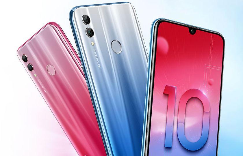 Honor 10 Lite ufficiale: notch a goccia e Android 9 Pie