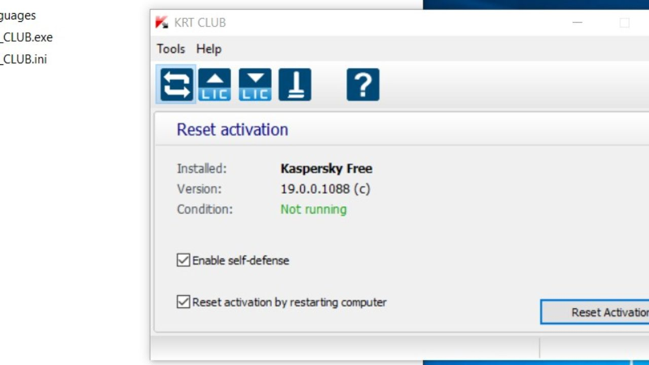 Download KRT CLUB: Crack e Trial Reset per tutti i Kaspersky