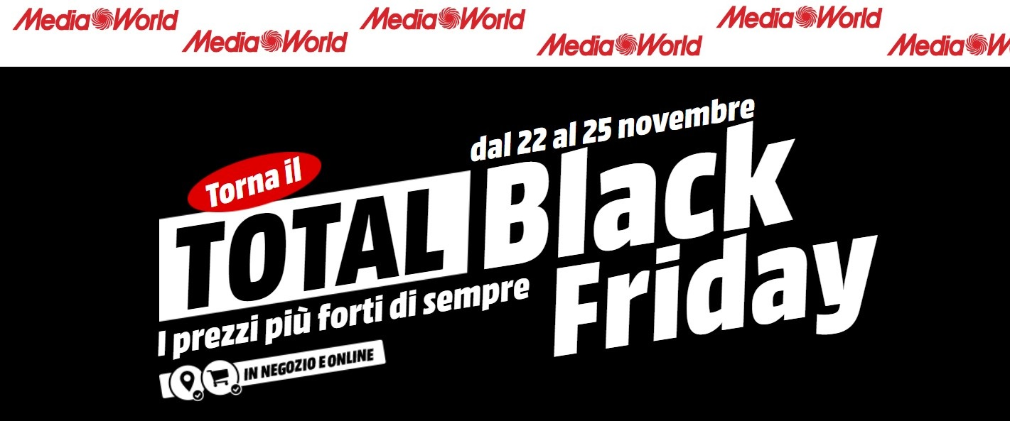 Total Black Friday 2018 Mediaworld Galaxy A8 E Nuovo Surface Pro I5