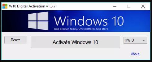 W10 Digital Activation Program come si usa?
