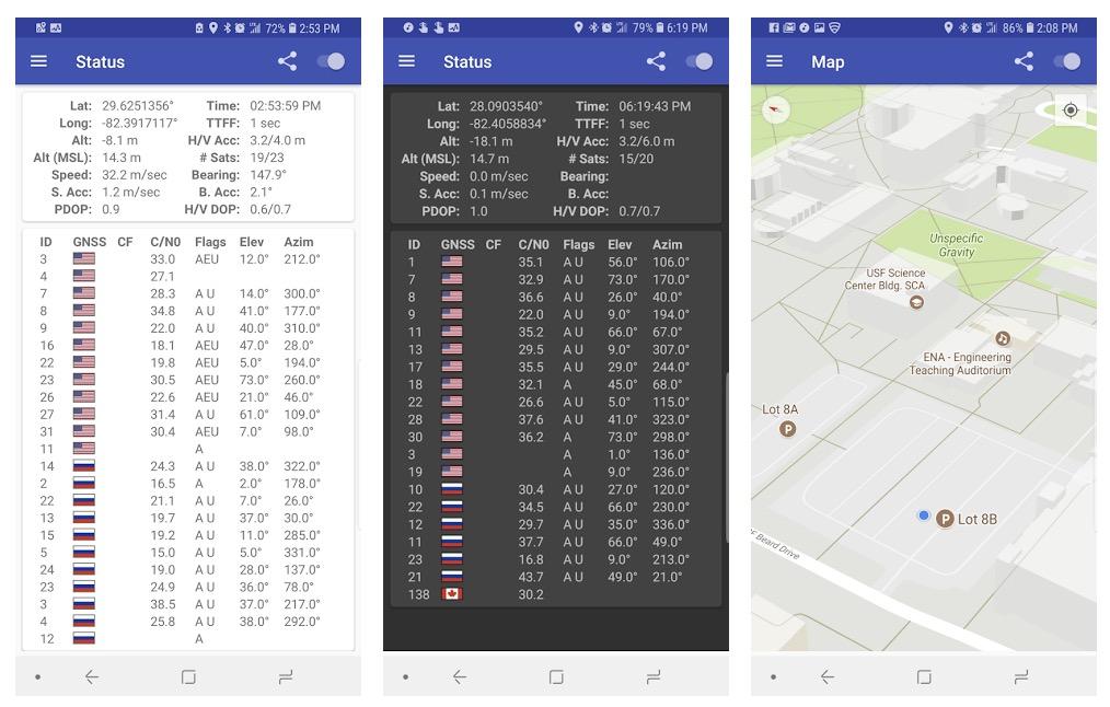GPS Android non aggancia satelliti