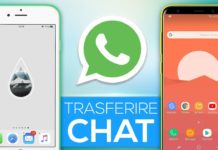 Backup WhatsApp da iPhone ad Android