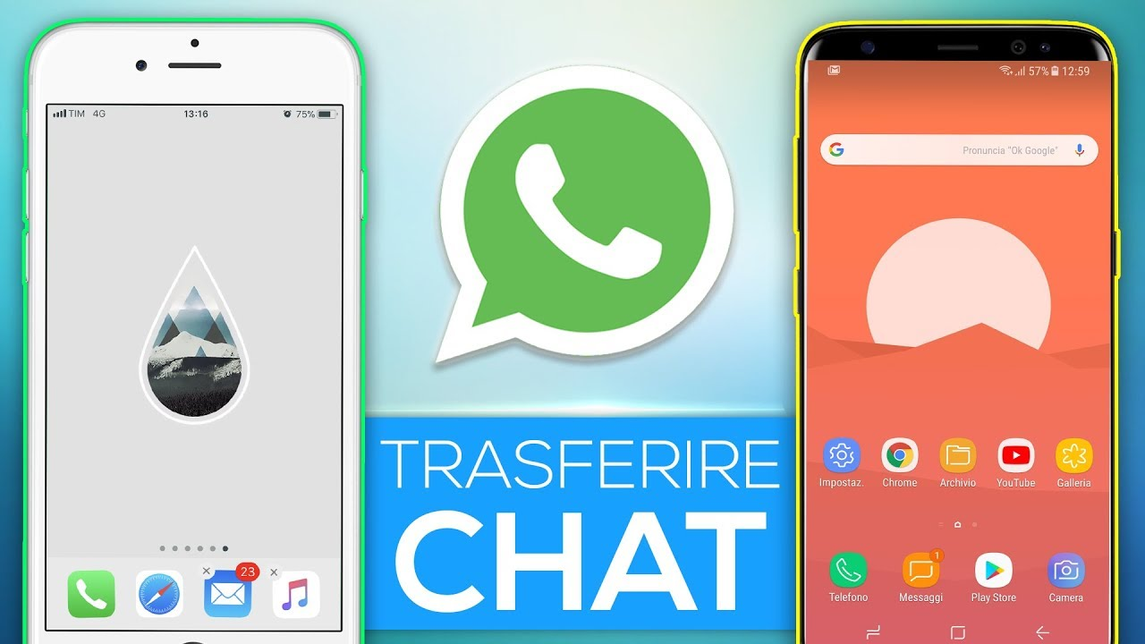 Trasferire Backup Whatsapp Da Android Ad Iphone La Guida