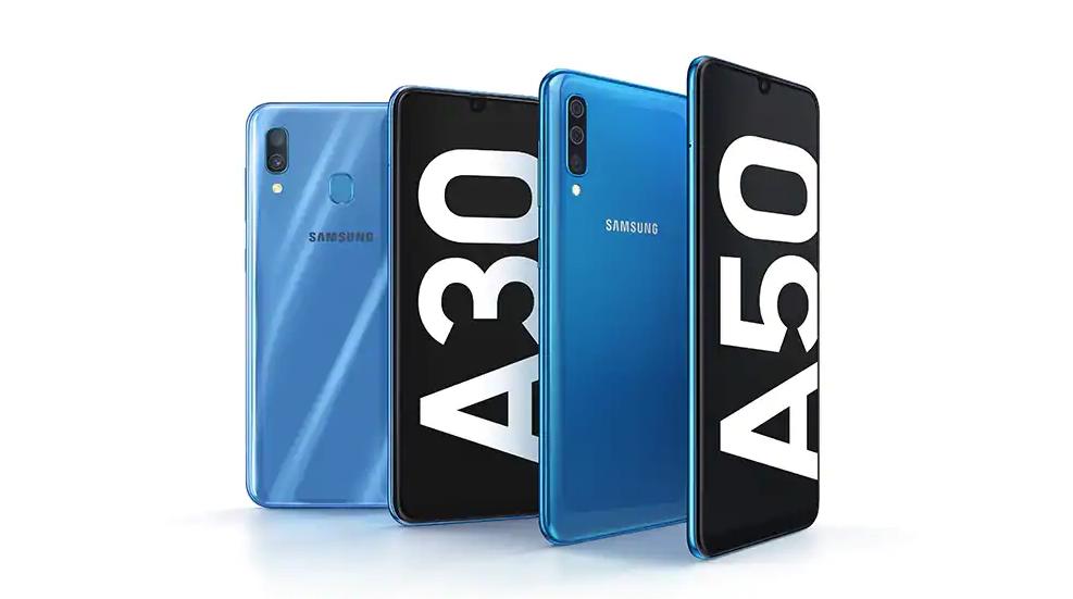 Samsung Galaxy A30 ed A50