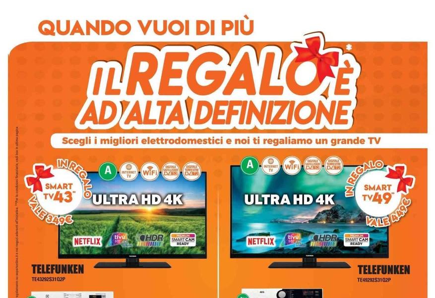 Volantino expert il regalo e 39 ad alta definizione fino a for Regalo mobile tv