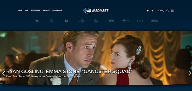 Come rivedere programmiMediaset